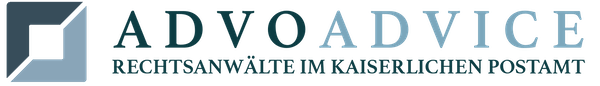 AdvoAdvice - Logo mit Text
